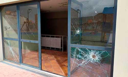 destrozos por actos vandalicos