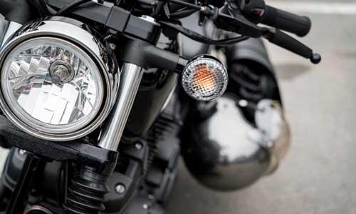 elementos personalizados y extras de motos